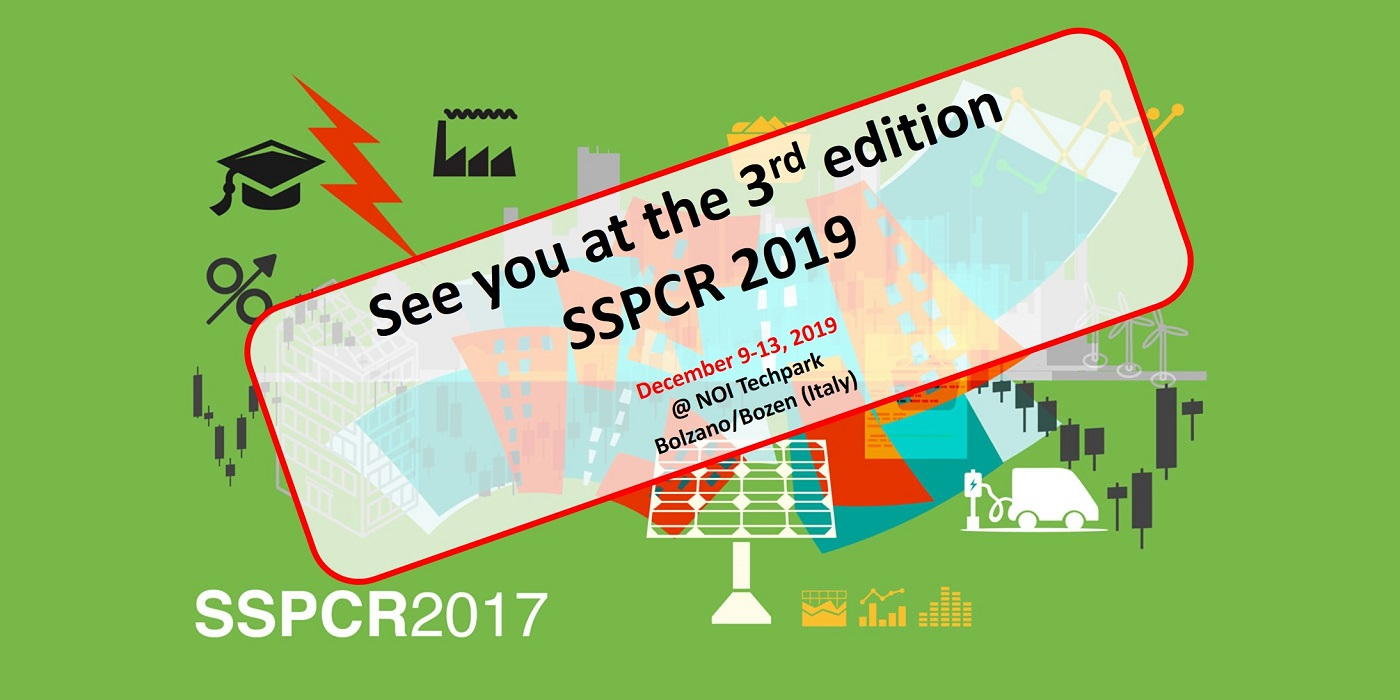 see you at SSPCR 2019